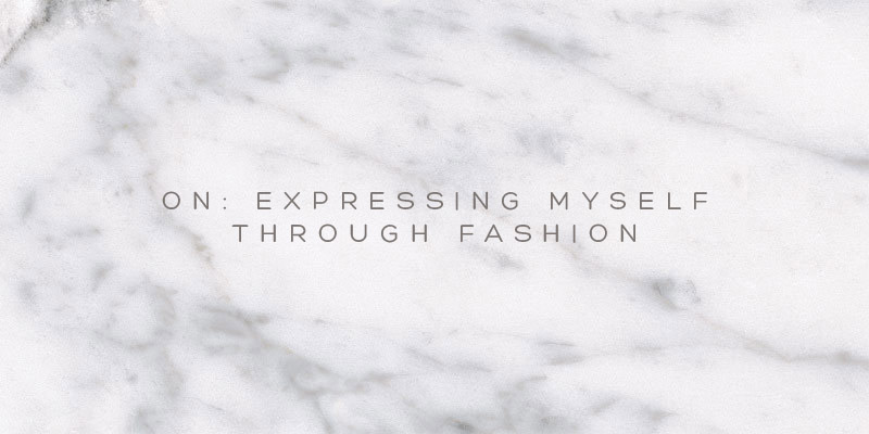 Fashion as a way of self expression