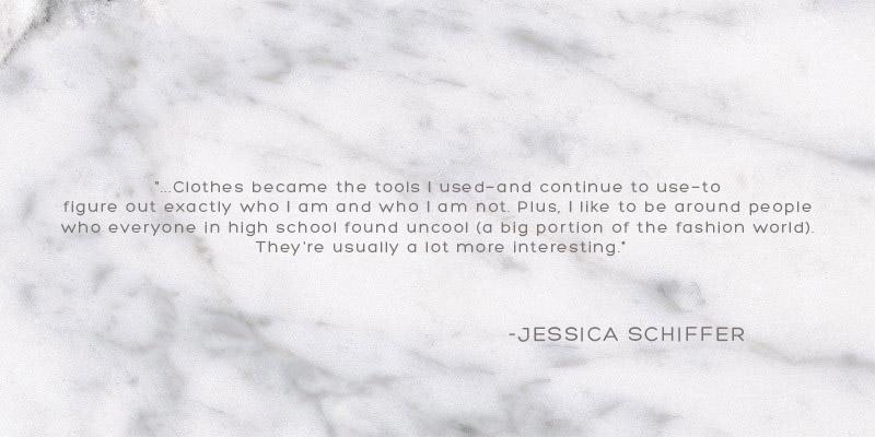 JESSICA SCHIFFER QUOTE