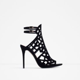 laser cut statement heels