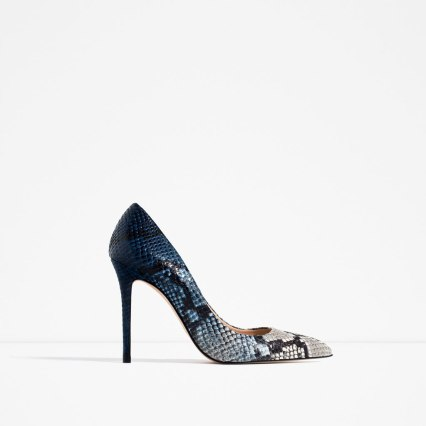 snake skin stilletos