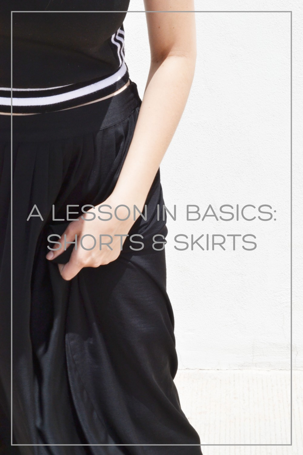 BASICS SHORTS AND SKIRTS