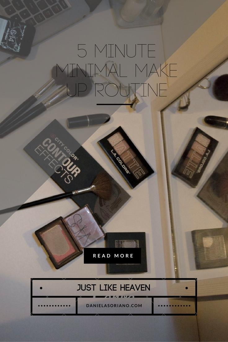 minimal-make-up-routine