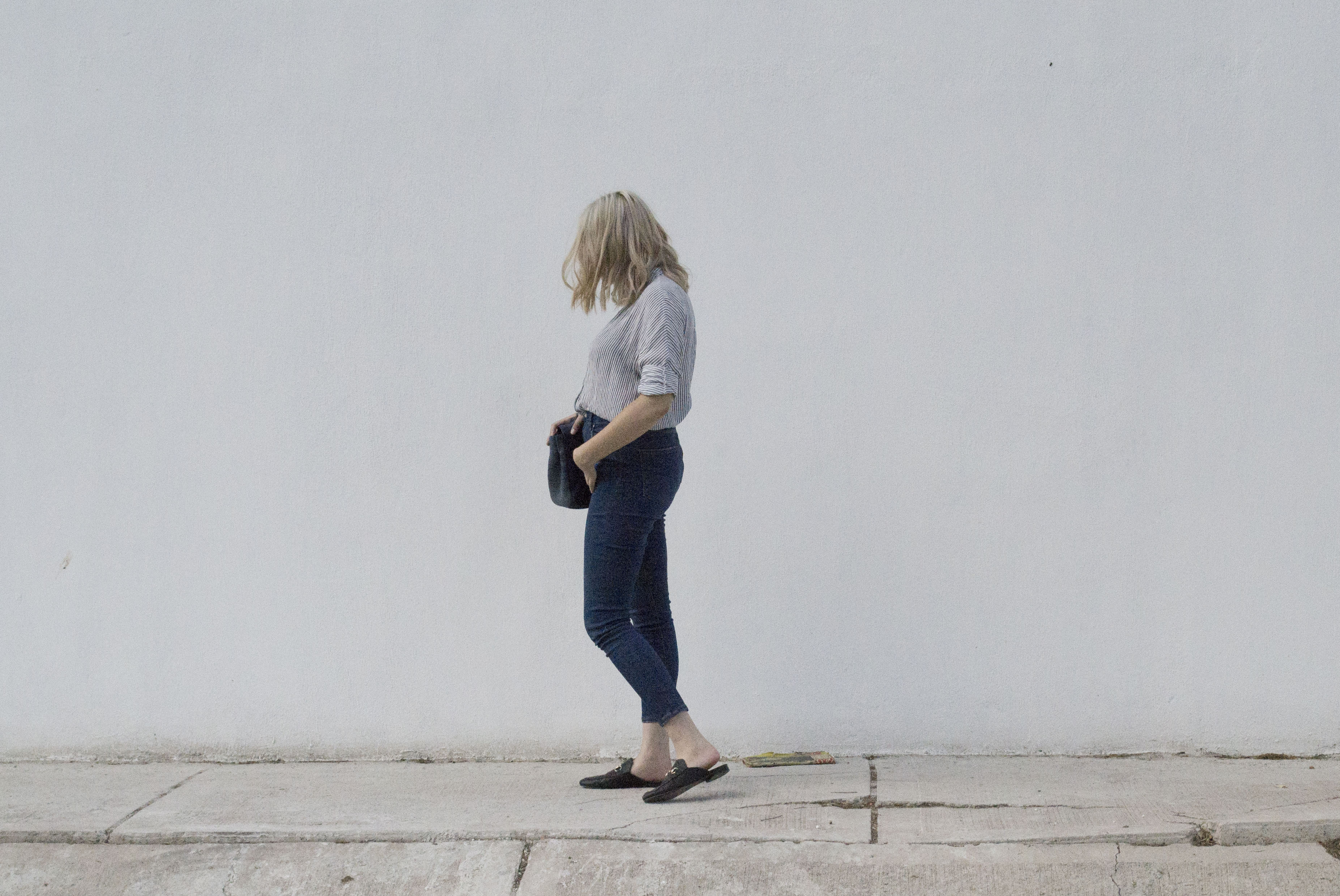 The high waisted jeans_1
