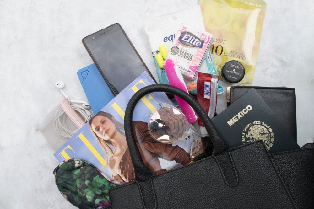 whats in my airport bag