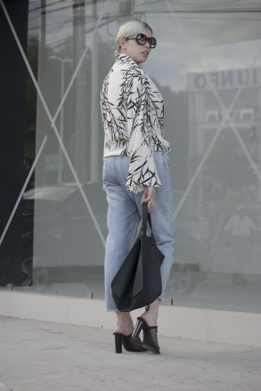 leaf print kimono_1