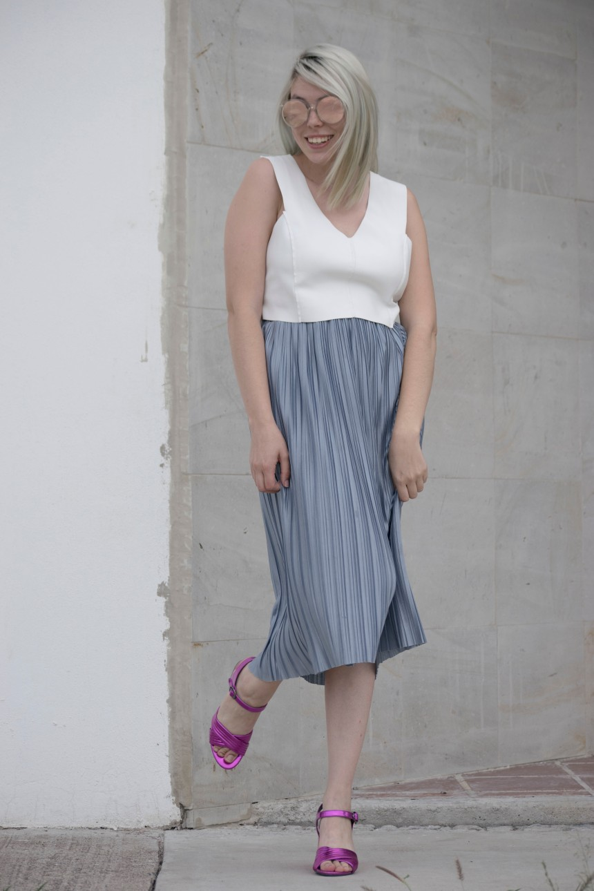 SILVER SKIRT AND BARBIE HEELS_5