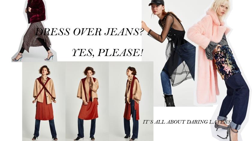 DRESS OVER PANTS