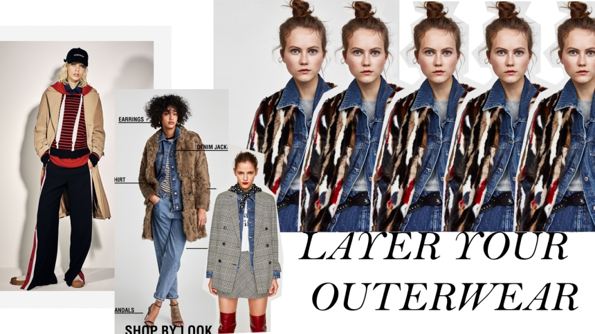 LAYER YOUR OUTERWEAR