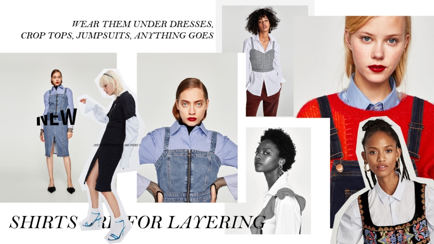 SHIRTS ARE FOR LAYERING