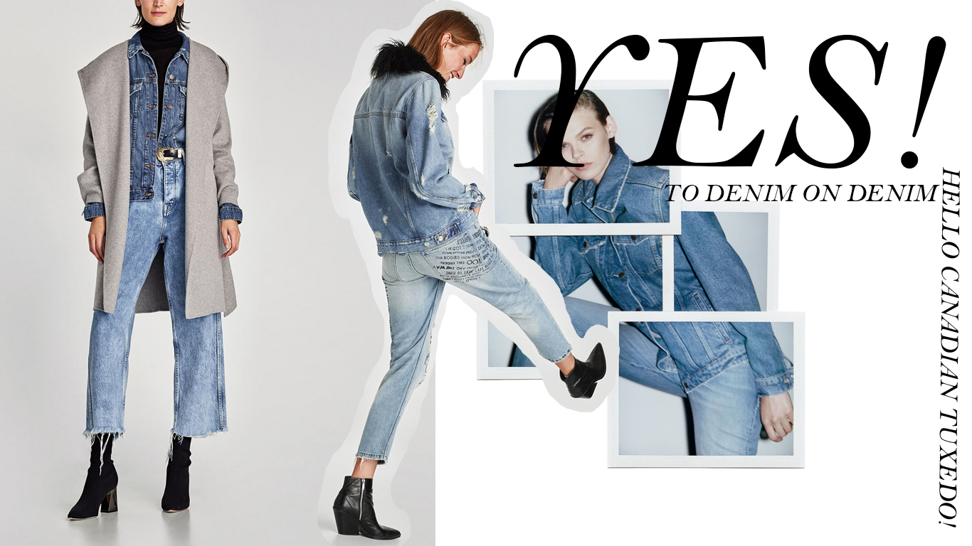 YES TO DENIM ON DENIM