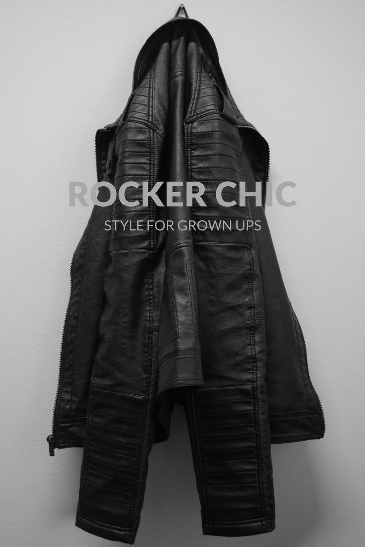 Rocker chic style for grown ups pinterest