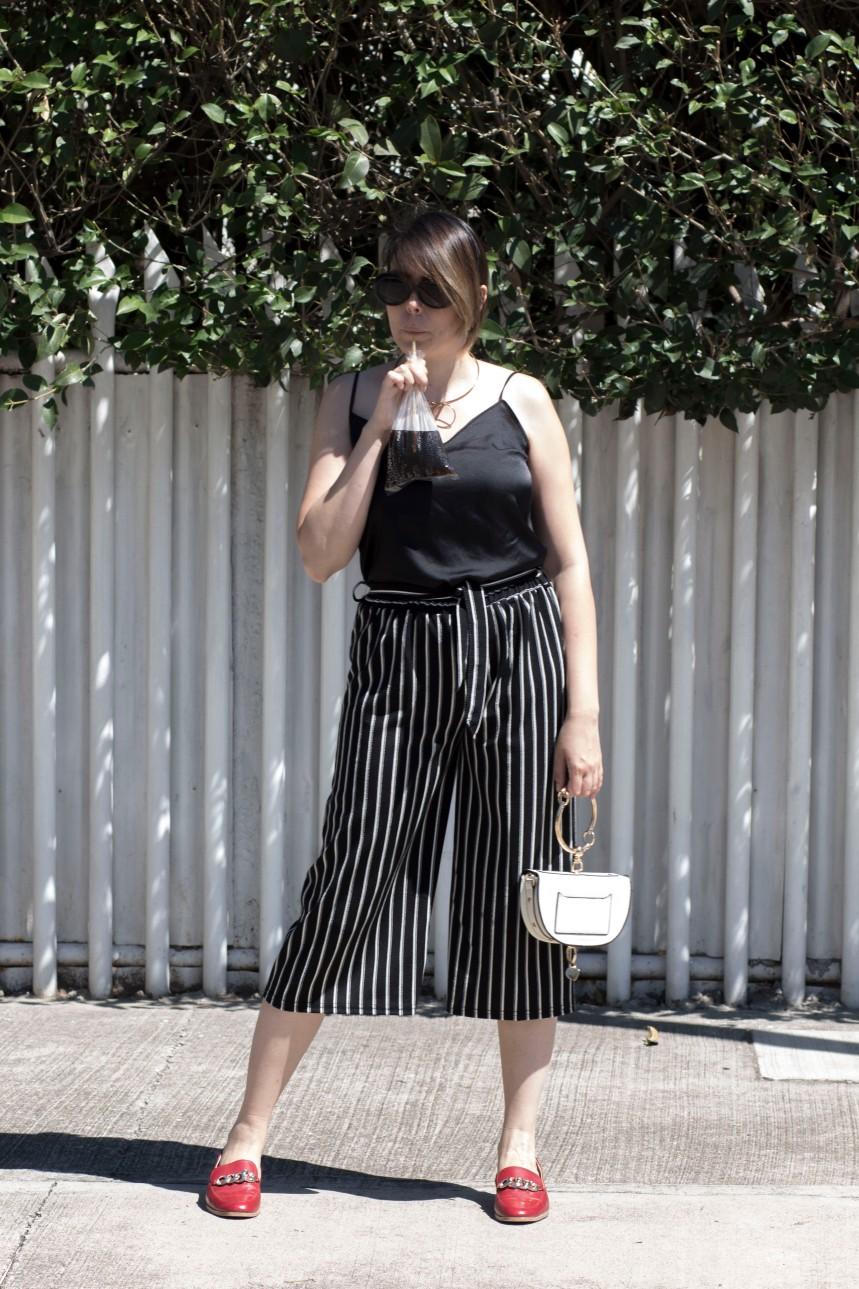 Striped culottes_5