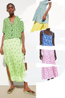 Summer trends: print on print