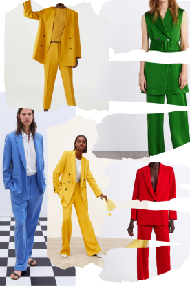 Summer trends: colorful suits