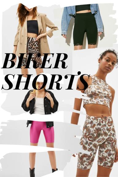 Summer trends: biking shorts