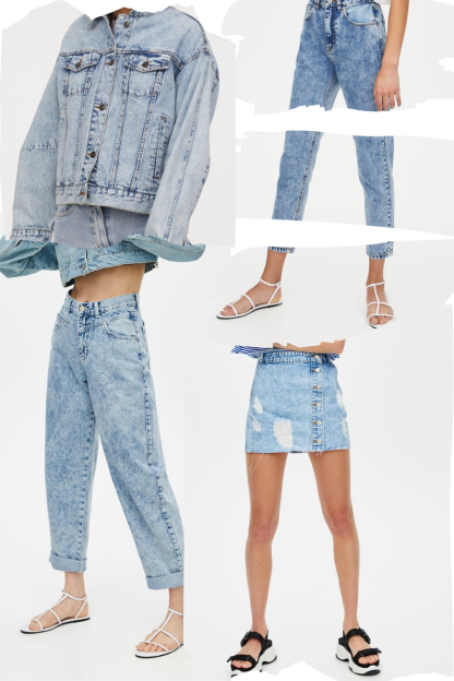 Summer trends: denim