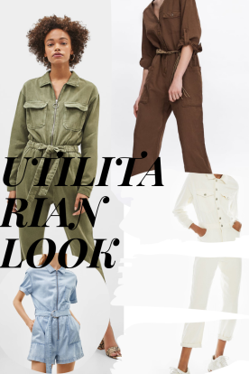 Summer trends: utilitarian look