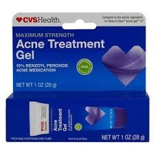 Nightime Skincare Routine: CVS Acne Treatment Gel
