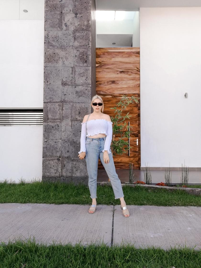 femme luxe bardot top