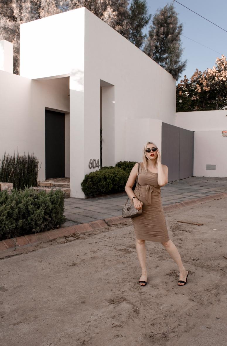 femme luxefinery body con dress